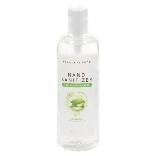 hand sanitizer with aloe pearlescence
