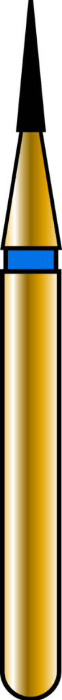 Flame 08-3.5mm Gold Diamond Bur