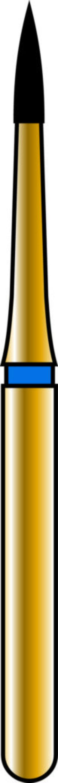Flame 09-3.5mm Gold Diamond Bur