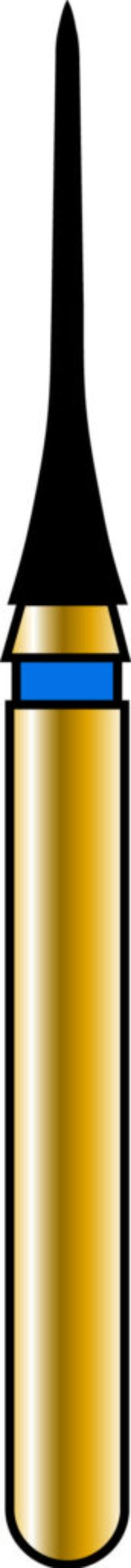 Interproximal 16-6mm Gold Diamond Bur