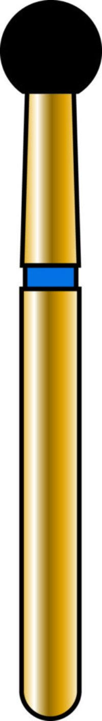 Round 27mm Gold Diamond Bur