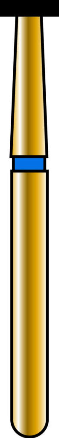 Wheel 50-.7mm Gold Diamond Bur - Coarse Grit