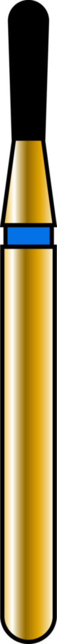 Pear 12-4mm Gold Diamond Bur