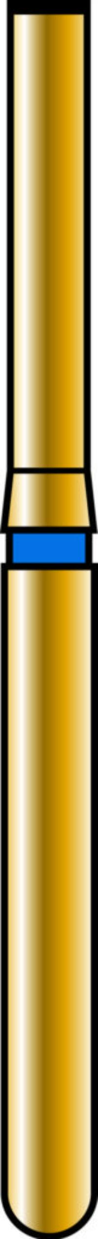 End Cutting 10mm Gold Diamond Bur