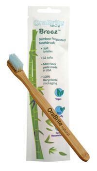 Pre-pasted Bamboo Toothbrush