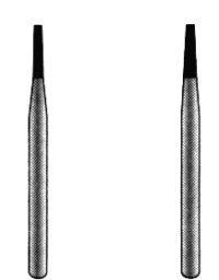 Flat End Taper Operative Diamond