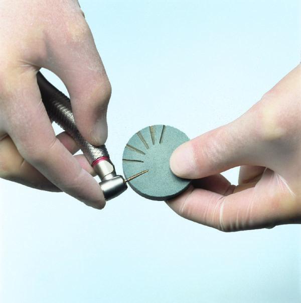 dental bur and diamond cleaning disc wheel