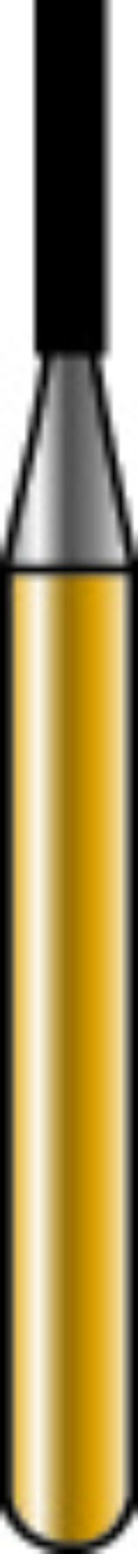 Cylinder Flat End X-Cut Golden Sharpie