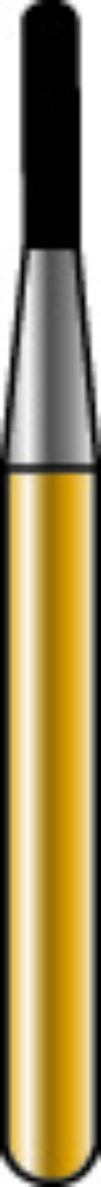 Cylinder Round End X-Cut Golden Sharpie