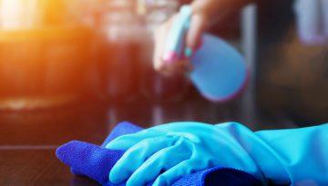 sterilizing and disinfecting corona virus